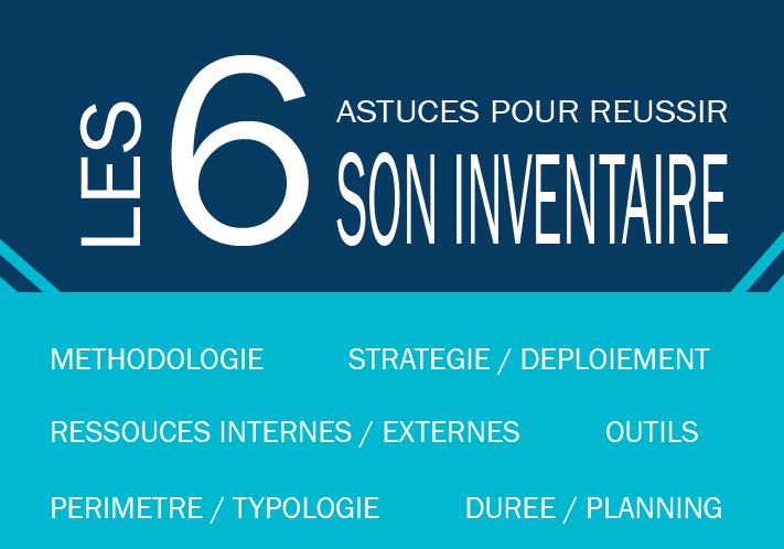 6 astuces pour réussir la préparation de sa campagne d'inventaire.