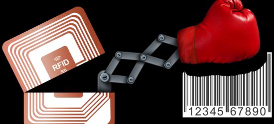 rfid versus code barres