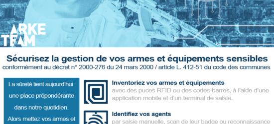 Inventaire et traçabilité des armes dans les armureries